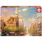 Puzzle  Educa-16783 Alexander Chen - New York Afternoon