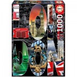 Puzzle  Educa-16786 Collage - London