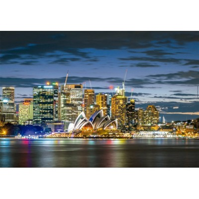 Puzzle Educa-17106 Sydney City Twilight