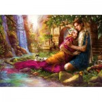 Puzzle  Educa-17673 Jardin Secret