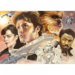 Puzzle  Educa-17682 Star Wars