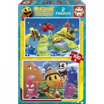 2 Puzzles - Pac-Man