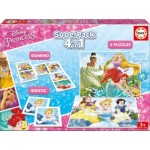 Puzzle   Superpack 4 in 1 - Disney Princess