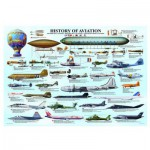 Puzzle  Eurographics-6000-0086 Histoire de l'Aviation