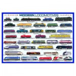 Puzzle  Eurographics-6000-0091 Locomotives