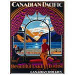 Puzzle  Eurographics-6000-0323 Canadian Pacific Rail Magnifique Lac Louise