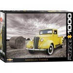 Puzzle  Eurographics-6000-0666 1937 Chevy Pick-up American Farmer