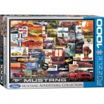 Puzzle  Eurographics-6000-0748 Ford Mustang Advertising Collection