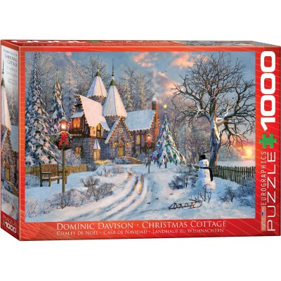 Puzzle Eurographics-6000-0790 Dominic Davison : Christmas Cottage