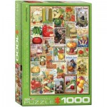 Puzzle  Eurographics-6000-0817 Catalogue de Semences de Légumes