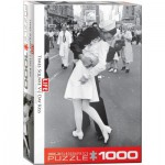 Puzzle  Eurographics-6000-0820 LIFE Magazine - Times Square - Kissing on V-J Day