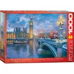 Puzzle  Eurographics-6000-0916 Dominic Davison : Christmas Eve in London