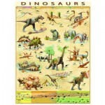 Puzzle  Eurographics-6000-1005 Les Dinosaures