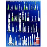 Puzzle  Eurographics-6000-1015 Fusées spatiales internationales