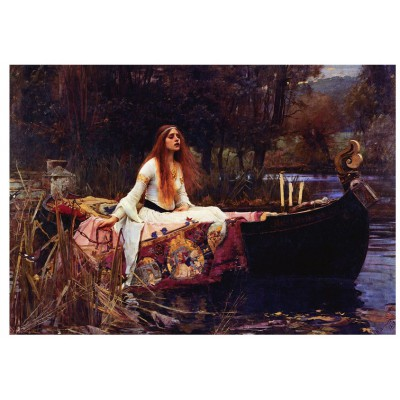 Puzzle Eurographics-6000-1133 Waterhouse : The Lady of Shalott, 1888