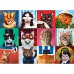 Puzzle  Eurographics-6000-5522 Funny Cats