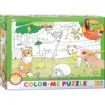 Eurographics-6111-0891 Color-Me Puzzle - Forêt