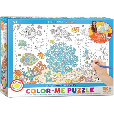 Puzzle Eurographics-6111-0894 Color Me - Aquarium