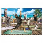 Puzzle  Eurographics-6500-5454 Pièces XXL - Yoga Spa