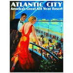 Puzzle  Eurographics-8000-0396 Atlantic City Station de vacances