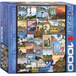 Puzzle  Eurographics-8000-0779 Collage de Phares