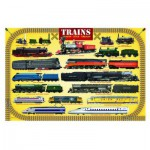Puzzle  Eurographics-8100-0090 Trains