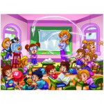 Puzzle  Eurographics-8100-0569 Girl Power - Institutrice