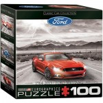 Eurographics-8104-0702 Mini Puzzle - Ford Mustang 1964 - 2015
