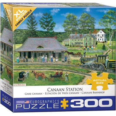 Puzzle Eurographics-8300-5388 Pièces XXL - Canaan Station