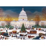 Puzzle  Eurographics-8300-5403 Christmas at The Capitol