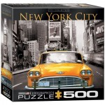 Puzzle  Eurographics-8500-0657 Pièces XXL - New York City Yellow Cab