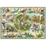 Puzzle   Sarah Adams - The Country Garden