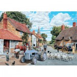 Puzzle  Jumbo-11026 Trevor Mitchell : Country Lane