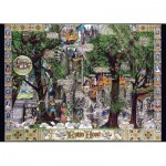 Puzzle  Jumbo-11087 Albert Lorenz: The Adventures of Robin Hood
