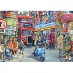 Puzzle  Jumbo-11090 Jim Mitchell - Life in the City