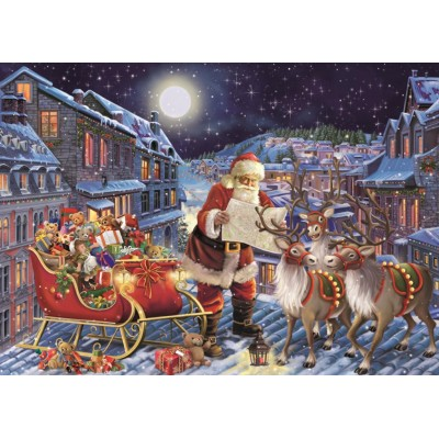 Puzzle Jumbo-11173 Pièces XXL - The Christmas Journey