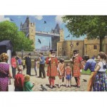 Puzzle  Jumbo-11177 Kevin Walsh - Beefeaters at the Tower
