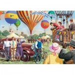 Puzzle  Jumbo-11189 Vic McLindon - Falcon Up & Away