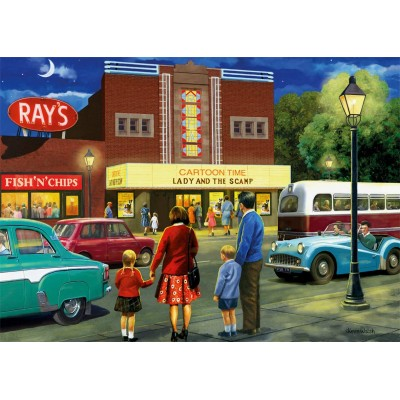 Puzzle Jumbo-11240 A Trip to The Movies