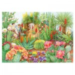 Puzzle  Jumbo-11254 The Flower Show - Desert Plants