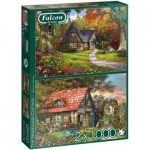 Puzzle  Jumbo-11294 Woodland Cottages