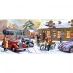 Puzzle   Christmas Eve at the Station