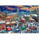 Puzzle  Gibsons-G2018 Driving Home for Christmas - Limited Edition