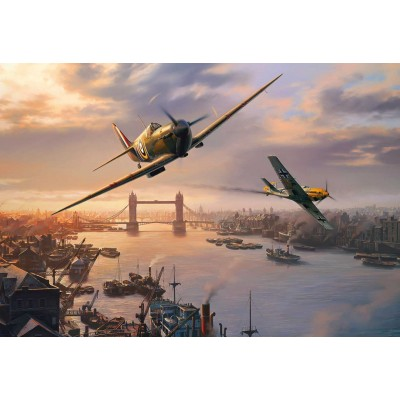 Puzzle Gibsons-G3112 Spitfire Skirmish