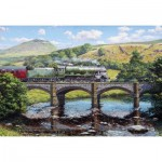 Puzzle  Gibsons-G3417 Stephen Warnes - Crossing The Ribble