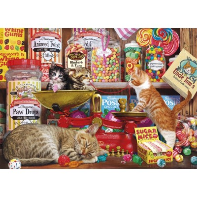 Puzzle Gibsons-G3529 Pièces XXL - Paw Drops & Sugar Mice