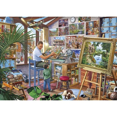 Puzzle Gibsons-G3542 Pièces XXL - A Work of Art