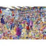 Puzzle  Gibsons-G3545 Pièces XXL - The Old Sweet Shop