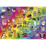 Puzzle  Gibsons-G3602 Punimals