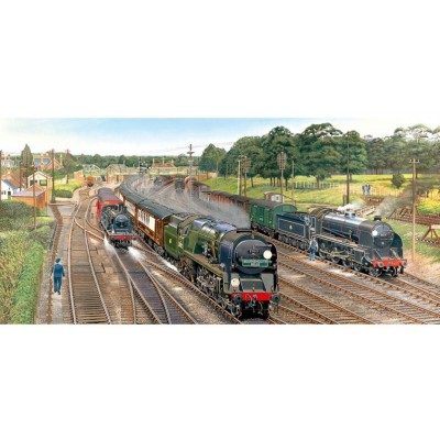 Puzzle Gibsons-G4018 La jonction de New Forest